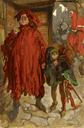 Sir John Falstaff with His Page