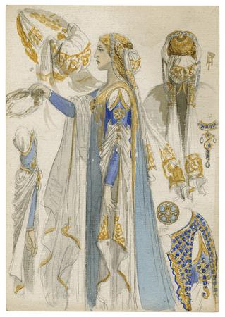 Costume design for Juliet
