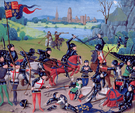 Battle of Agincourt, St. Alban's Chronicle
