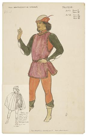 Costume design for Proteus