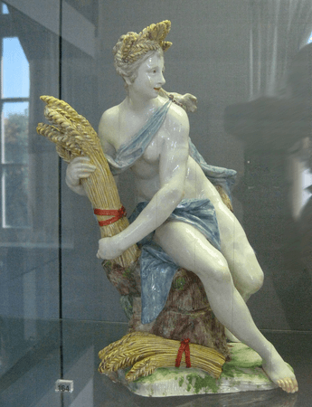 Ceres, a goddess of agriculture and grain