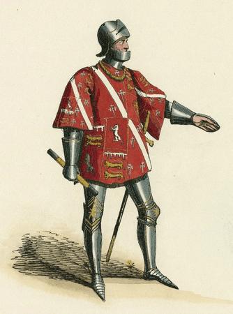Costume design for Duke of Norfolk