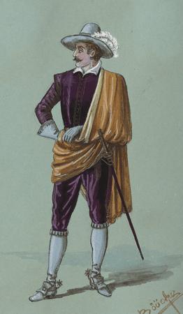 Costume study for Petruchio