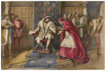 The fall of Cardinal Wolsey
