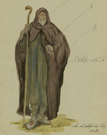 An old shepherd