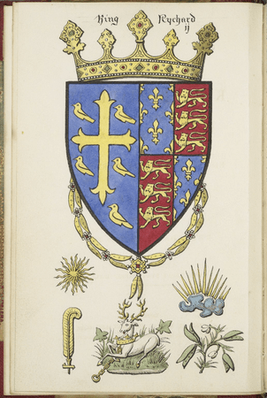 Title page of 1857 edition of Richard II