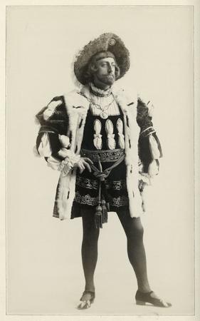 John Drew as the King of Navarre