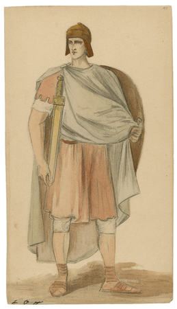 Costume designs for the Viola Allen production of Cymbeline