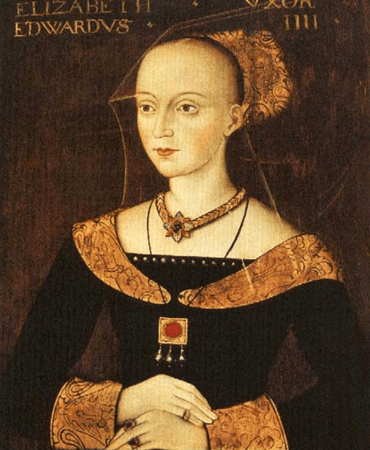 Elizabeth Woodville, wife of King Edward IV