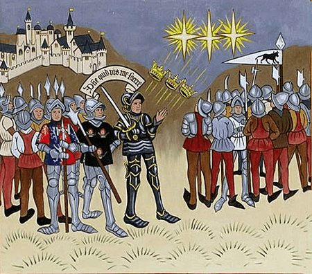 The Battle of Mortimer's Cross