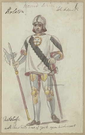 Costume design for Richard Ratcliffe