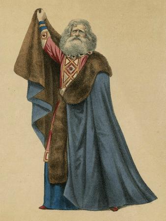 Samuel Phelps as King Lear