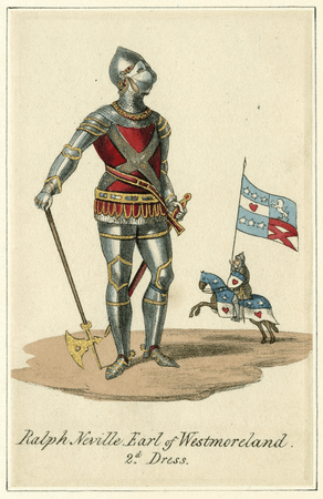 Costume design for Earl of Westmorland