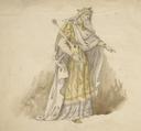 Costume design for King Lear