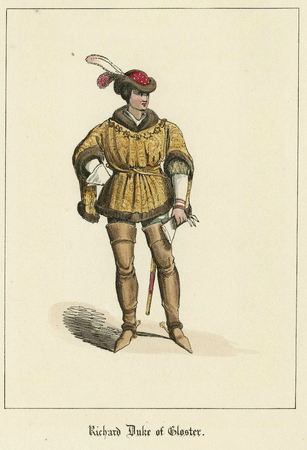 Costume design for Richard