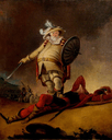 Falstaff and the Dead Body of Hotspur