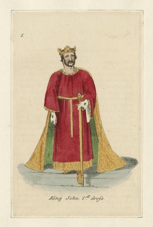 Costume design for King John