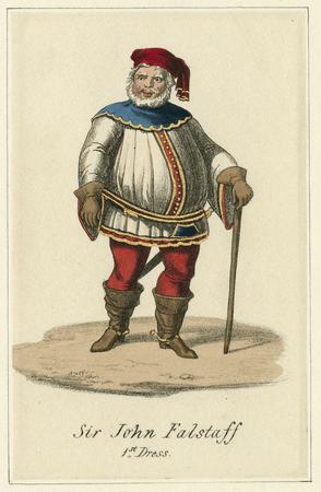 Costume design for Falstaff