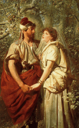 Troilus and Cressida in the Garden of Pandarus