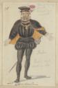 Costume design for Chamberlain
