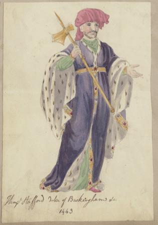 Costume design for Buckingham