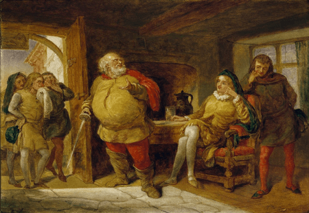 Falstaff tells his version of the robbery