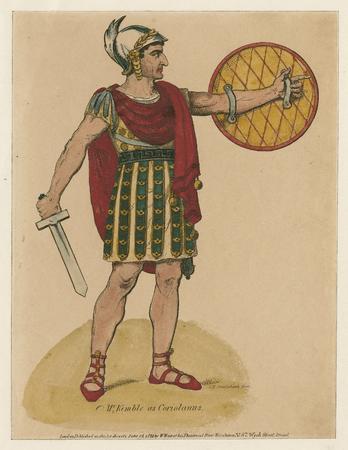 John Philip Kemble as Caius Martius Coriolanus