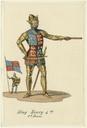 Costume design for King Henry IV