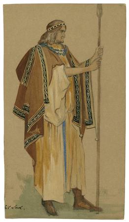 Costume design for British lord