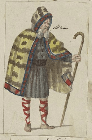 Costumes for old man