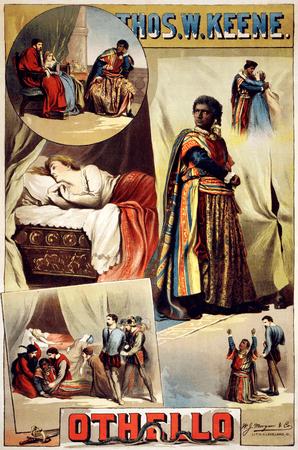 Thomas W. Keene in Othello