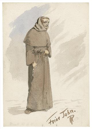 Costume design for Friar John