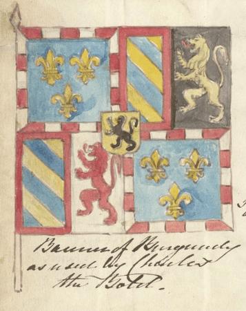 Banner design for the Duke of Burgundy