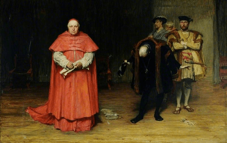 The Disgrace of Cardinal Wolsey