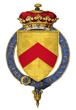 Coat of Arms of Sir Humphrey Stafford, 1st Duke of Buckingham