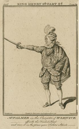 John Palmer as Warwick