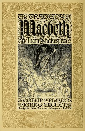 Frontpiece to the Coburn Actiing Edition of Macbeth