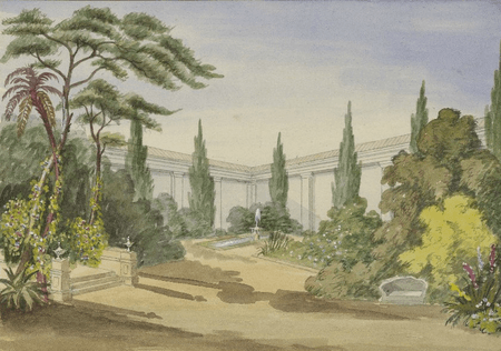 Scene design for Much Ado About Nothing