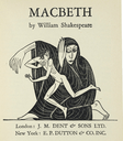 Frontpiece for J. M. Dent edition of Macbeth