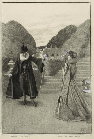 Herbert Beerbohm Tree and Maud Jeffries in Twelfth Night
