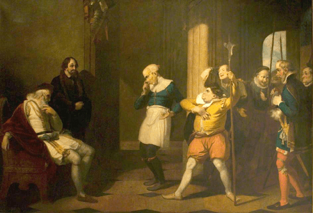 The Examination of Froth and Clown by Escalus