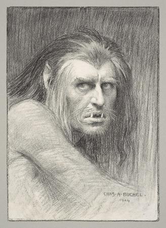 Herbert Beerbohm Tree as Caliban