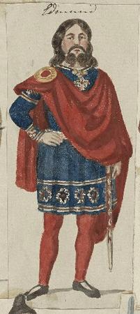 Costume design for Edmund