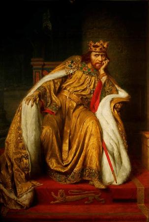 Herbert Beerbohm Tree as King John