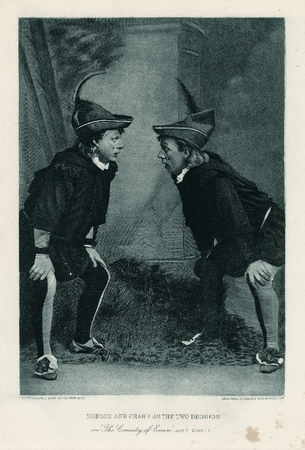 Robson and Crane as the two Dromios