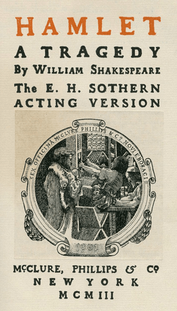 Frontpiece for McClure, Phillips & Co. edition of Hamlet