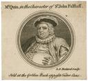 Mr. Quin, in the character of Sr. John Falstaff
