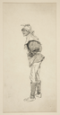 Study for unidentified character in King Henry IV, PartI