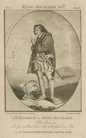 John Philip Kemble as King Richard
