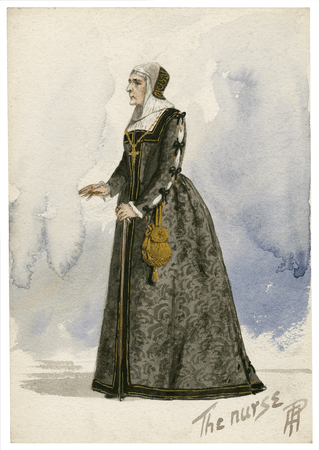 Costume design for the nurse